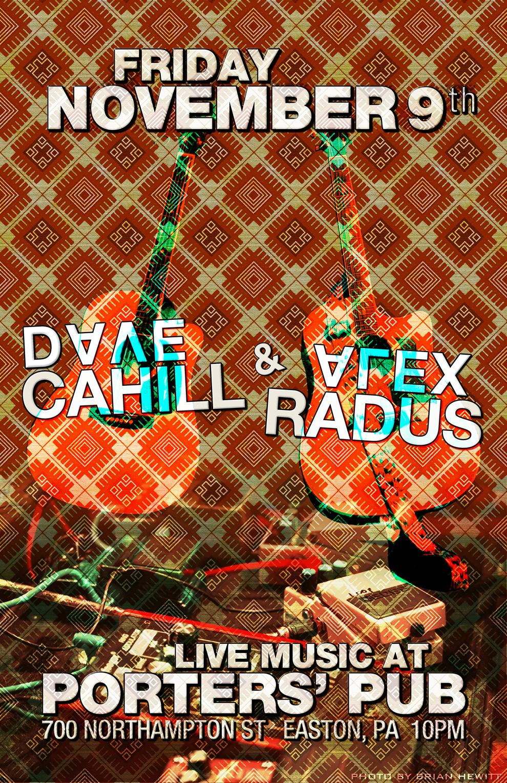 Alex Radus vs. Dave Cahill