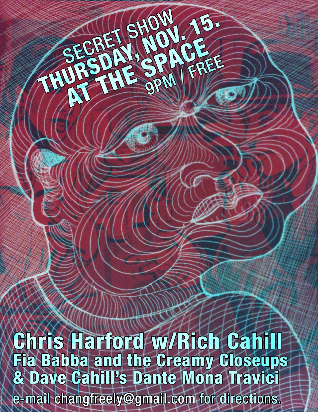 Chris Harford, Rich Cahill &amp; Dave Cahill Secret Show