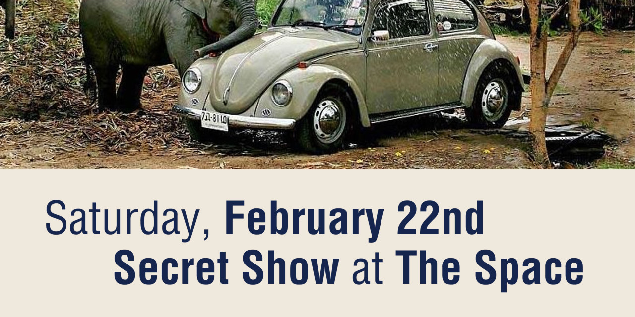 Sitting in w/ Kyp Malone Feb. 22 Secret Show