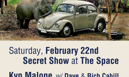 Sitting in w/ Kyp Malone Feb. 22 Secret Show