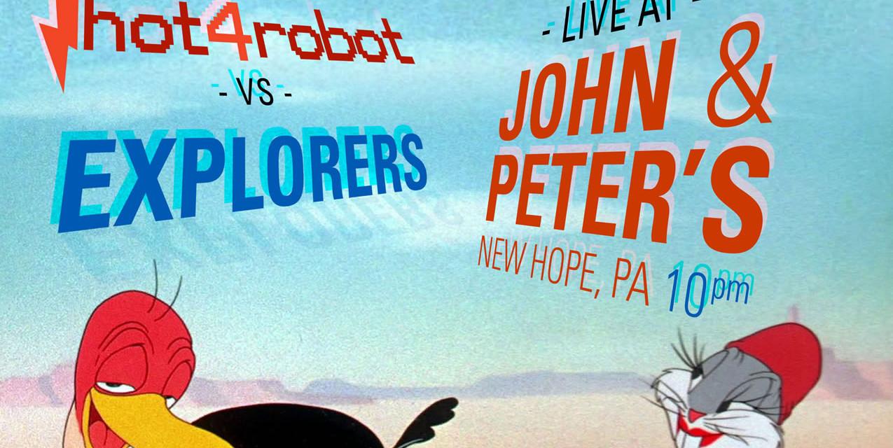 Hot 4 Robot vs. Explorers