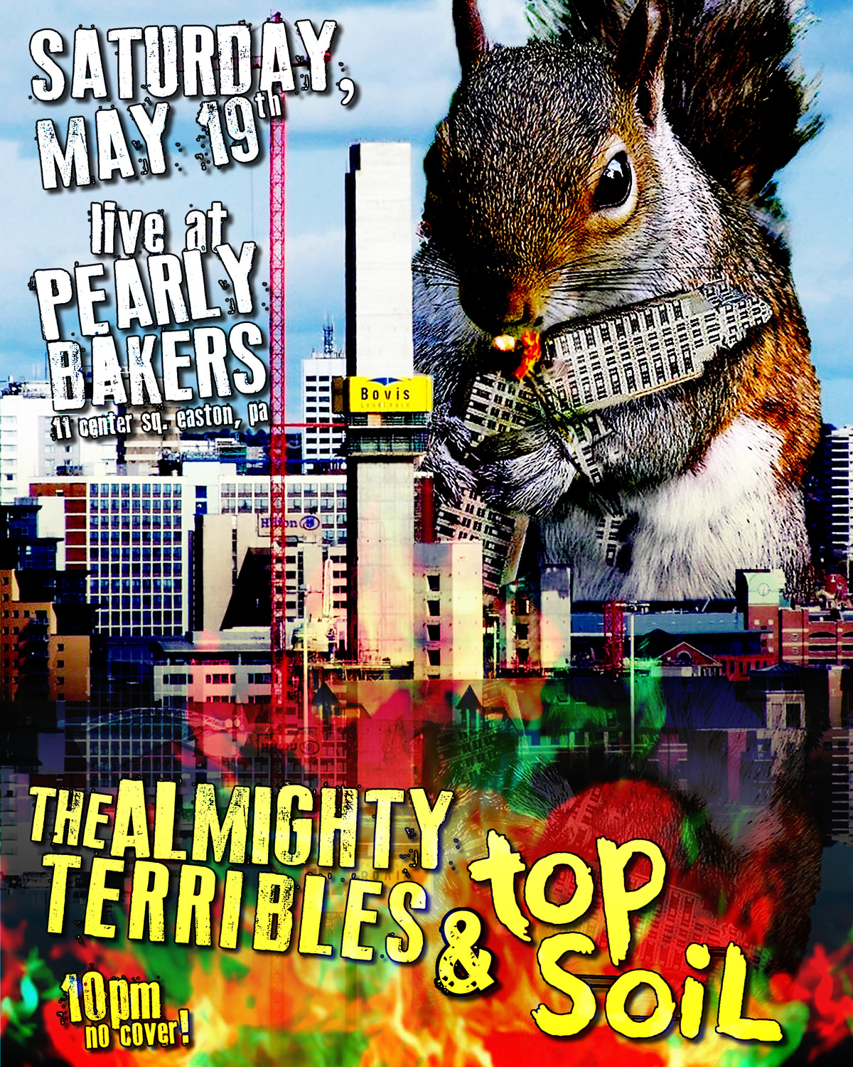 THE ALMIGHTY TERRIBLES & TOP SOIL MAY 19