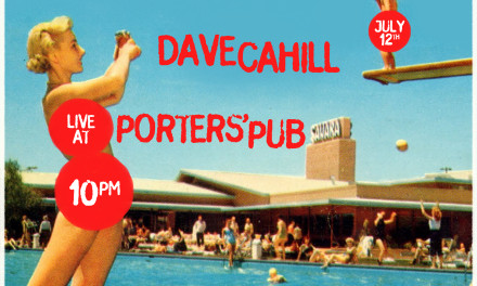 July 12th Solo Show at Porters' Pub
