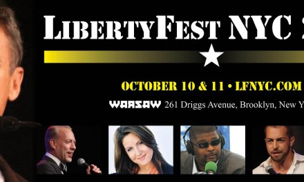 Performing at LibertyFest NYC 2015