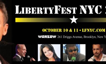 Performing at LibertyFest NYC 2015