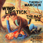 Improv at The Rat on Tuesday March 15
